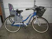 Like New - Bicycle, Child's Seat and Basket Call