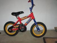 This is an excellent bicycle. Good for 3-5 years boys.