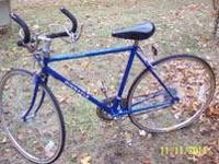 Call us at  Multiple speed bicycle. Good shape.