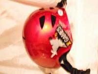 A very nice Red Bicycle Helmet. Size M/L. Has only a
