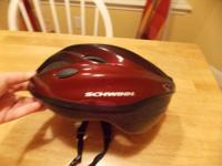 I HAVE A BICYCLE HELMET FOR SALE.   IT IS A REGULAR
