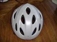 Bell Impulse Bicycle Helmet, White, Adult, 54-61cm,