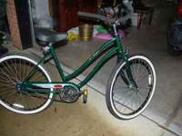 "JC Higgins beach cruiser bike - ""brand new"" condition -"