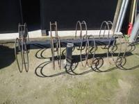 Steel Bicycle Parking Rack for sale. You will be able