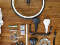 Available, I have a variety of bike parts.  1ST