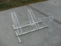 Bike rack for sale, $50 obo please call Ken @