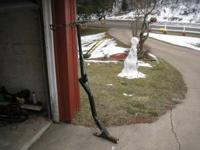 "Bicycle rack and trailer hitch 2"" receiver , $ 75.00"