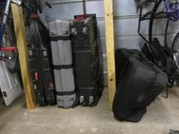Numerous made use of bicycle shipping cases for sale.