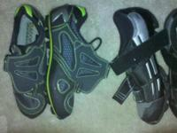 "1 set Diadora clipless ""Chili"" shoes, size 40 ... never"