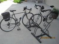 Two bike stands (establishment 4 bikes) for sale. Note