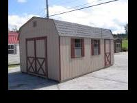 we sell bicycle sheds and barns and garages we also