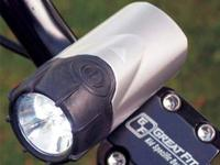 The BICYCLE TAIL LIGHT has 180 degrees of illumination,