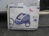 Bicycle Trailer for up to a toddler size child. Has a 5