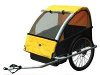 Brand New Sun Lite Bicycle Trailer with cover. Alloy