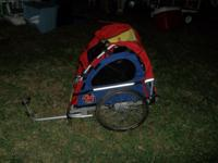 I have a bicycle carrier for kids for sale for $175.