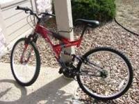 Bicycle for sale . 1 year old but rarely used. I am