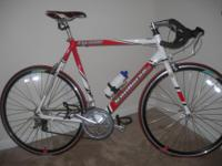Aluminum 60cm. frame, 16 speed, never been used, garage