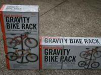 New Dual position gravity bicycle racks (2 @ $25 each).