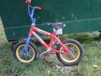 Little Boy's Bicycle,had training wheels but we took