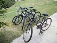 Cleaning out garage.Four bicycles for sale 40.00 each