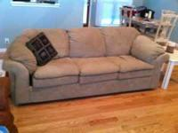 This is a very comfortable sofa in great condition.