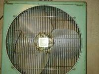Big 20 vintage metal box fan made in 1958. It works