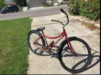 "I have a BIG 32"" beach cruiser for sale. It's made for"