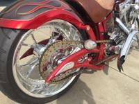 This custom built chopper is in excellent condition and