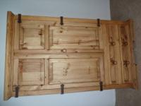 I am selling my imported from Mexico Armoire/ Wardrobe.