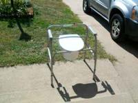 bedside commode, $60.00 call  comes with tub bach