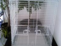 Big bird cage appx. 20x20 by 28 high with stand 52