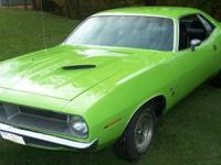 1970 Plymouth Barracuda Gran Coupe Barn find - that
