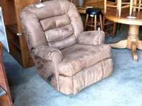 Comfortable chair! The Tradin Post 904 North Main St.