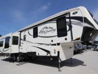 BIG COUNTRY 3650RL BY HEARTLAND 3 SLIDES, FULL SHOWER,