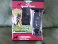 Pet Safe Big Dog Trainer Remote with Static Collar.