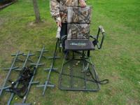 This is a brand name Big Dog Tree Stand and Ladder. The