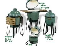 Purchase Big Green Eggs in Several sizes at our stores