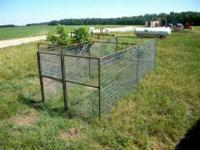 """16' x 6'-6"""" trap made out of 11ga. tubing and 2"""" x 4"""""""