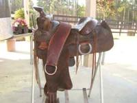 Nice older Big Horn saddle that still has lots of life