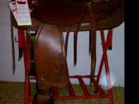 Beautiful brand new never used big horn saddle in