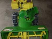 "2 Stage 10 HP, 32"" John Deere self propelled snowblower"