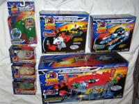 LOT INCLUDES: NINJA TRAINING GROUND BUZZSAW TANK GIANT