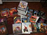 Big lot of Dungeons and Dragons Magazines and books