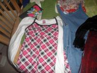 Size Girls 10 to 12 I have dresses, tops, and jackets