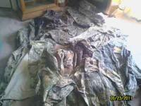 I HAVE A BIG LOT OF HUNTING CLOTHS.