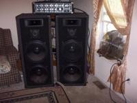 Pair of Welton Pro Studio DJ Speakers Ea. speaker Dual
