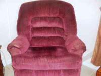 Big man recliner for sale in excellent condition.