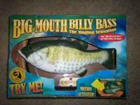 Original Big Mouth Billy Bass. Never been used. Runs on