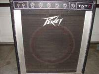 i have a nice big peavey tnt 100 amp for 100.00 call