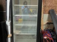 Big pepsi fridge WORKS PERFECT!! Great for basements,